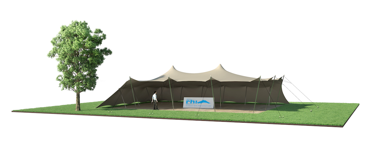 location tente stretch 157 m2