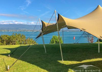 Twist Events - Location et vente tentes de réception stretch, mobilier événementiel - Genève Vaud Suisse Romande