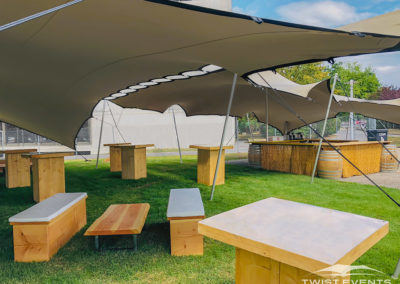 Twist Events - Location tentes de réception stretch modulables et mobilier champêtre - Corporate Event, Garden Party - Geneve Vaud Suisse Romande