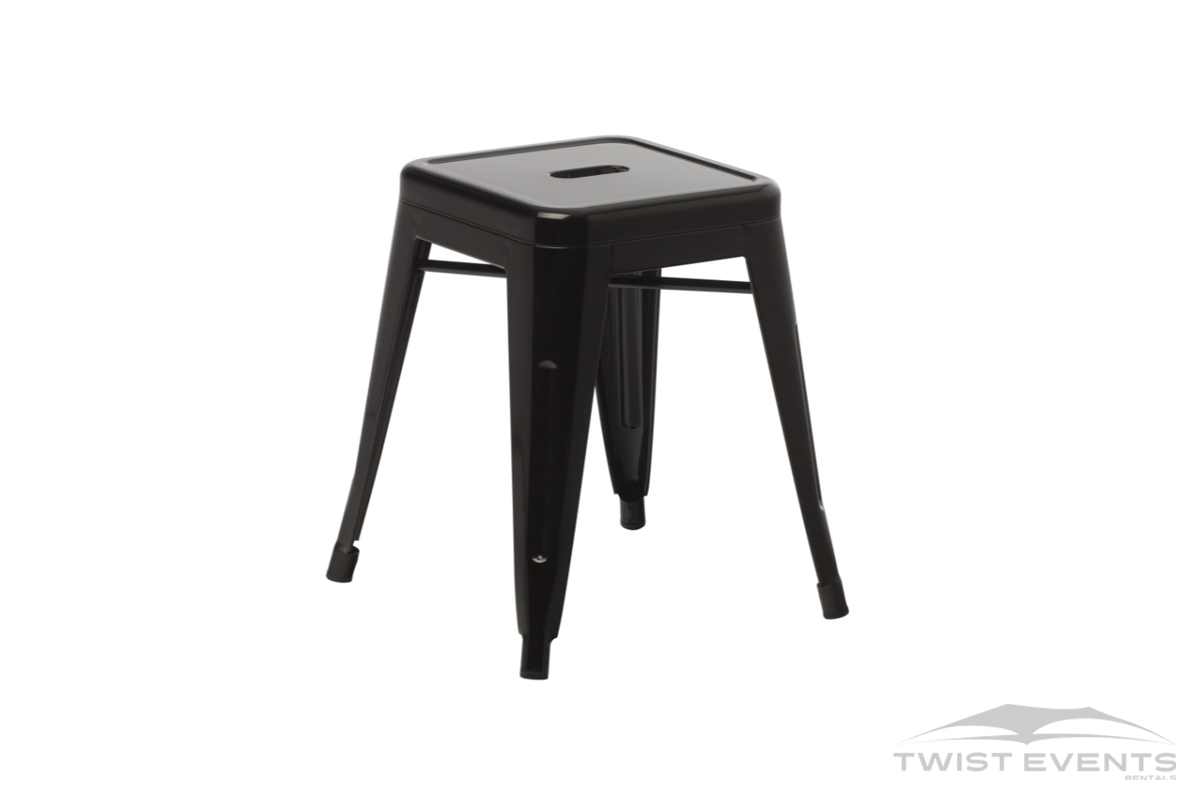 Mini tabouret industriel - Location mobilier lounge de reception - Geneve Vaud Suisse Romande