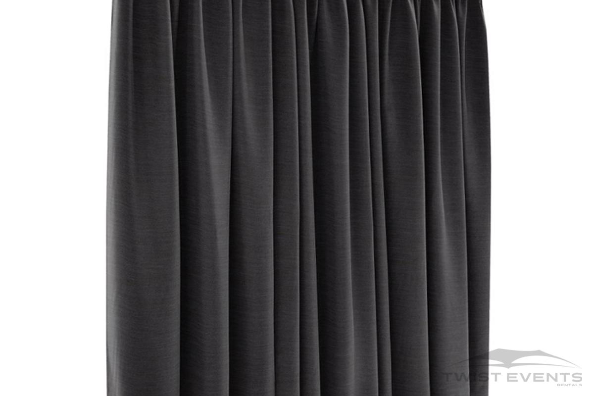 Location accessoire evenementiel - rideau noir occultant - Twist Events Geneve W