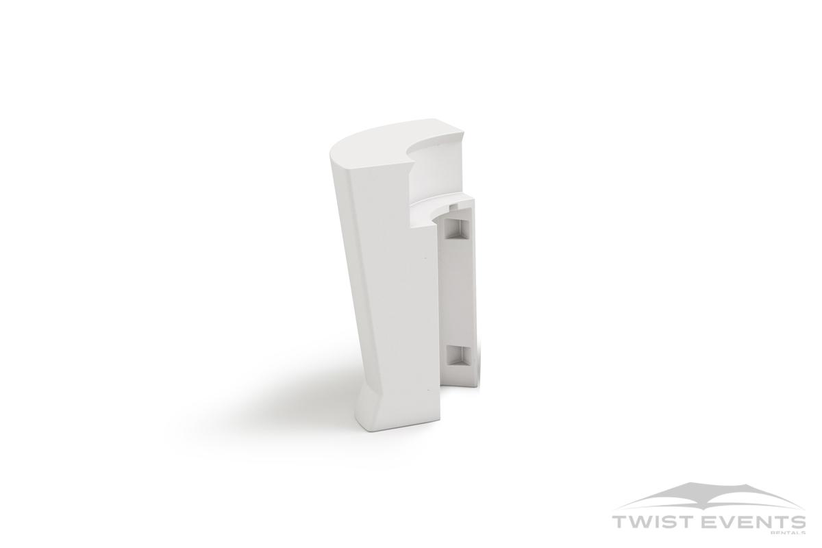 Location bar d'angle lumineux design - vue back - Evenement Geneve Suisse - Twist Events W