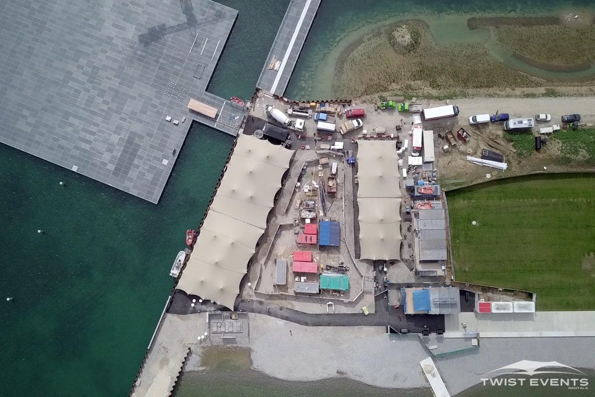 Location tentes de reception stretch 1'000m2 - Inauguration Plage des Eaux Vives - Geneve - TWIST EVENTS (15)-min