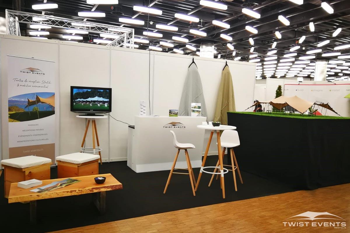 Location tentes de reception stretch et mobilier de reception evenement geneve suisse romande