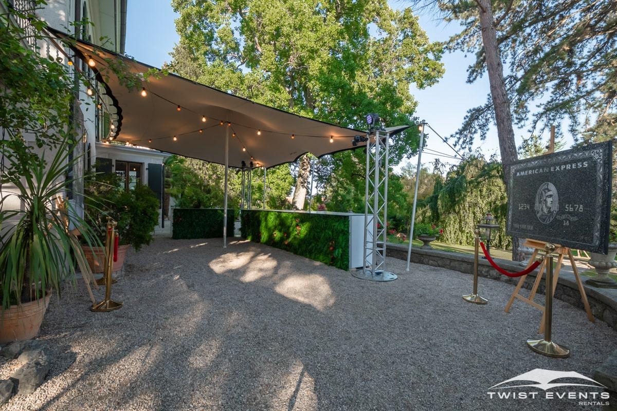 Location tentes de reception stretch et mobilier lounge - evenement d'entreprise - Twist Events - Geneve et Romandie (10)-min