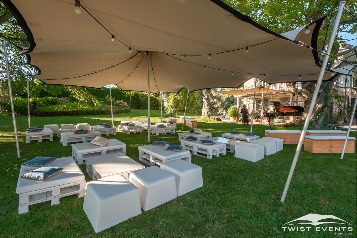 Location tentes de reception stretch et mobilier lounge - evenement d'entreprise - Twist Events - Geneve et Romandie (17)-min