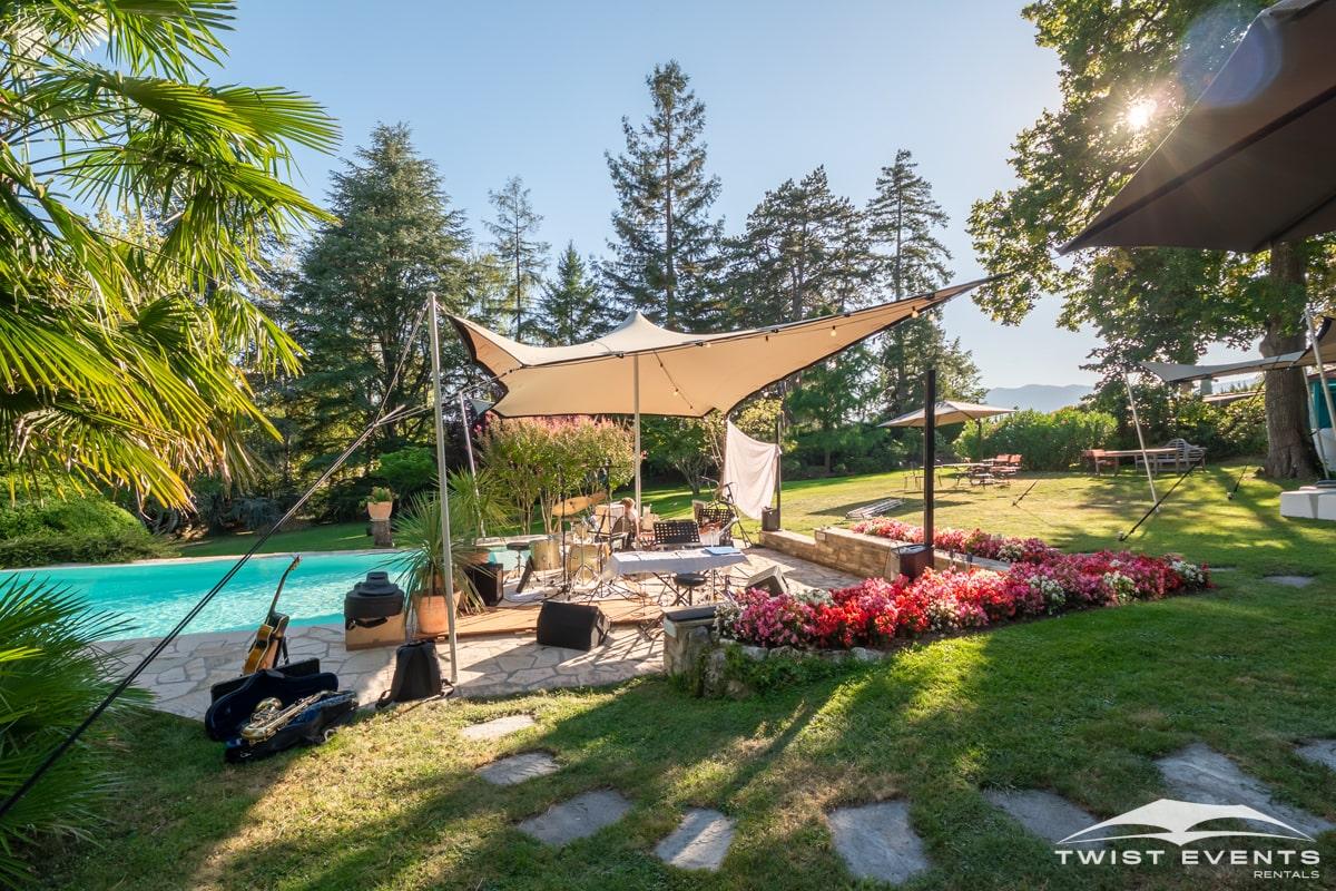 Location tentes de reception stretch et mobilier lounge - evenement d'entreprise - Twist Events - Geneve et Romandie (7)-min