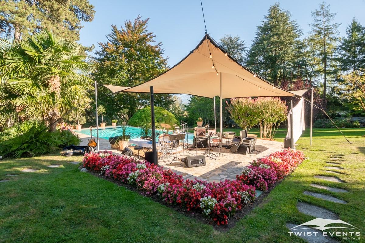 Location tentes de reception stretch et mobilier lounge - evenement d'entreprise - Twist Events - Geneve et Romandie (9)-min