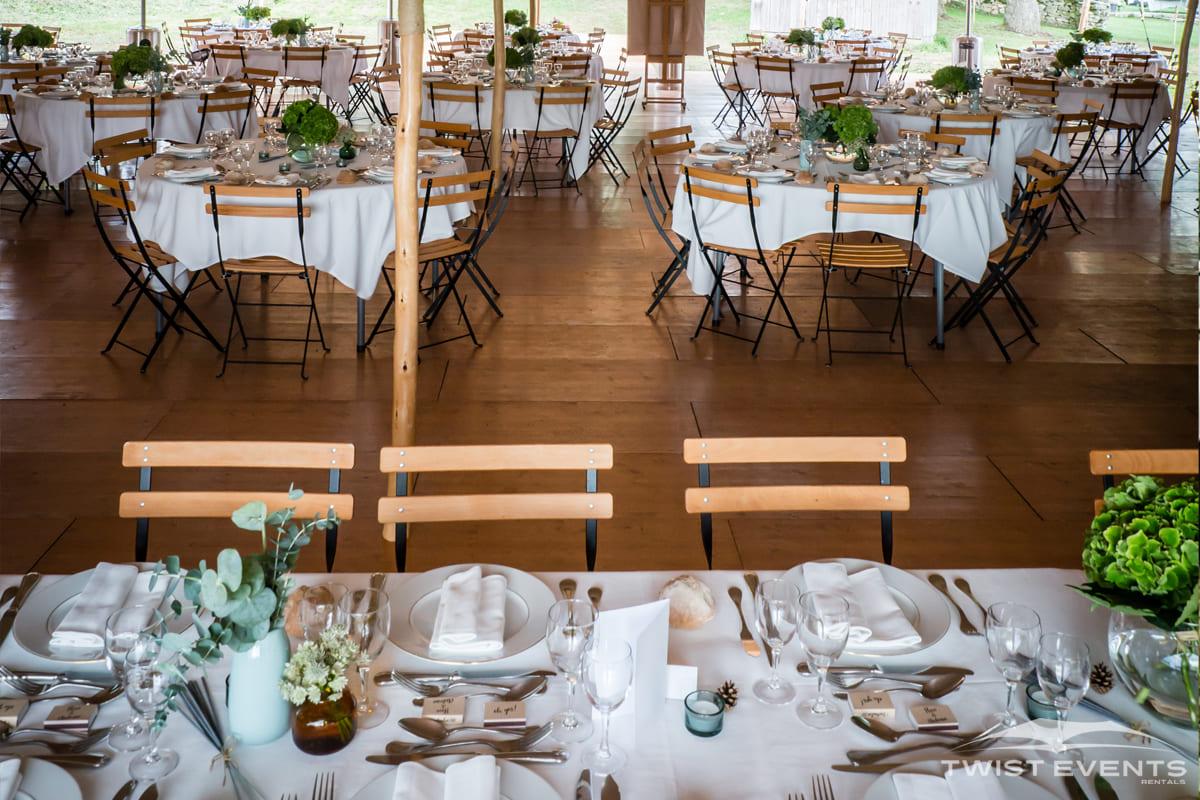 Plancher en bois pour mariage - Location materiel technique de reception - Canton Geneve Vaud Suisse Romande
