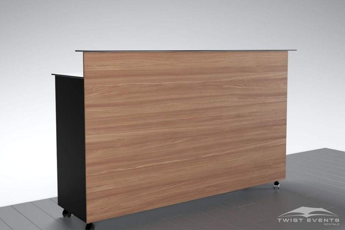 Bar personnalisable noir et bois - Location mobilier - www (3)