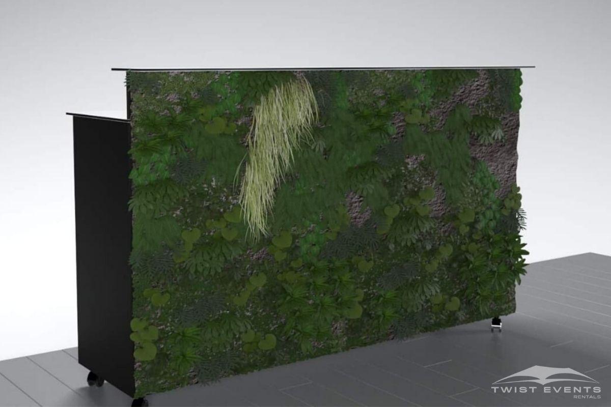 Bar personnalisable noir façade végétale - Location mobilier - www (26)